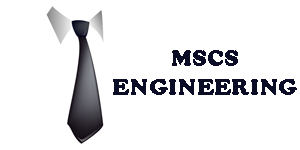 MSCS Engineering – Engineering Consultant – Services Firm Logo